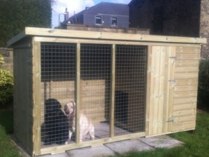 Super Kennel and Run - Door in End