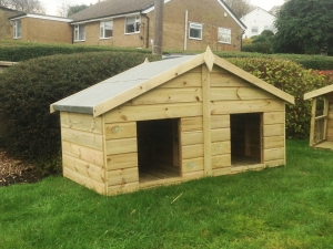 Traditional Apex Double Kennel
